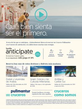ANTICIPATE PULLMANTUR