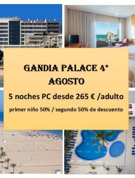 GANDIA PALACE AGOSTO