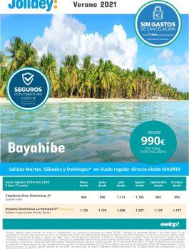 Bayahibe verano 2021 jolidey