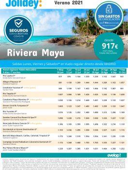 Riviera Maya verano 2021 jolidey